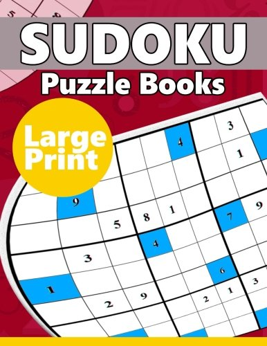 9781534893931: Sudoku Puzzle Books LARGE Print: The Huge Book of Hard Sudoku Challenging Puzzles