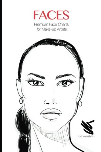 9781534896857: Faces: Premium Face Chart for Make-up Artists