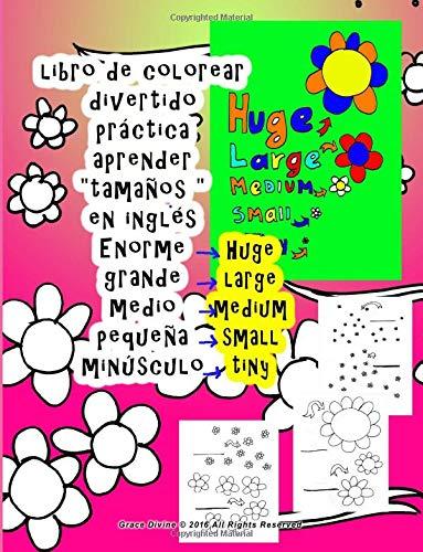 9781534907119 Libro De Colorear Grande Medio Pequeña Aprender