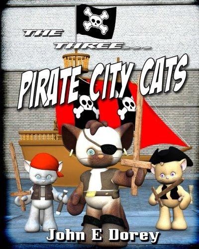 9781534909625: The Three Pirate City Cats (Volume 2)