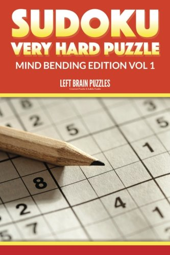 9781534932661: Sudoku Very Hard Puzzle: Mind Bending Edition Vol 1