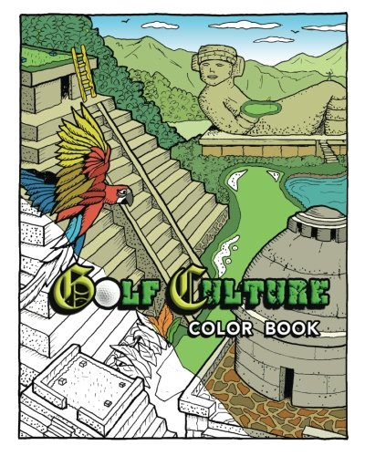 9781534932715: Golf Culture Color Book