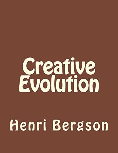 9781534938762: Creative Evolution