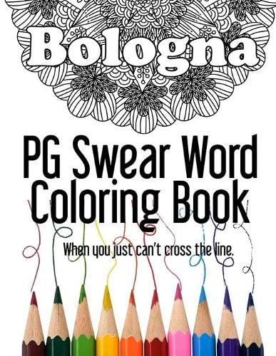 9781534942165 Bologna PG Swear Word Coloring Book Less Offensive Curse