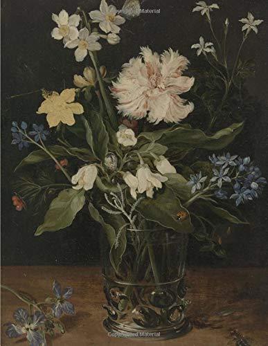 Still Life of Flowers in a Glass: Beeker, Studio