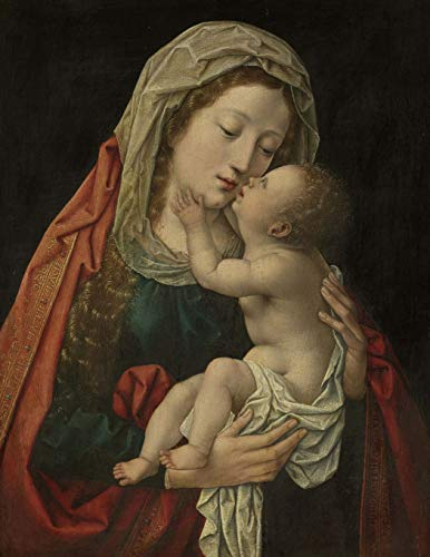 Mary and Child, Bernard Van Orley. Blank: Beeker, Studio