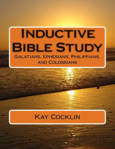 9781534979482: Inductive Bible Study on Galatians, Ephesians, Philippians and Colossians