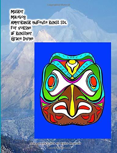 Masker Malebog Amerikansk Indfodte Kunst Stil for: Grace Divine
