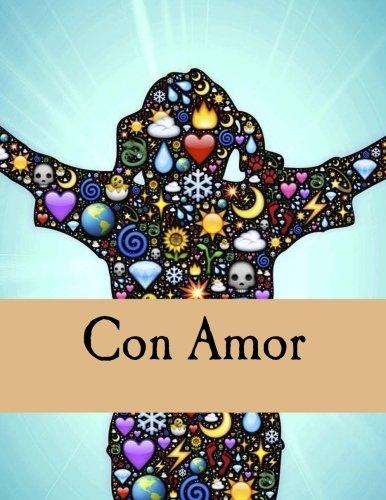 9781534996977: Con Amor: Un libro para colorear para adultos y un diario (Spanish Edition)