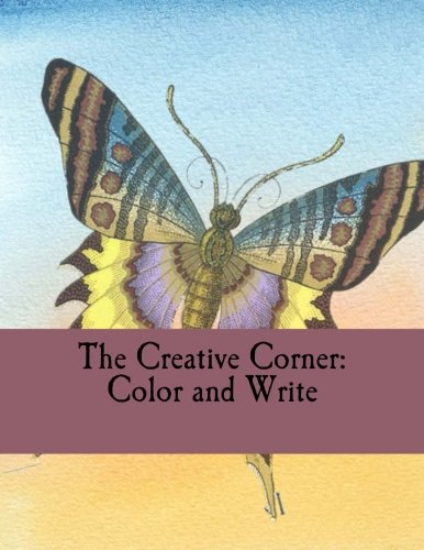 9781535022705: The Creative Corner: Color and Write: Adult Coloring Journal