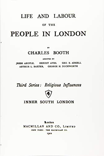 9781535026185: Life and Labour of the People in London