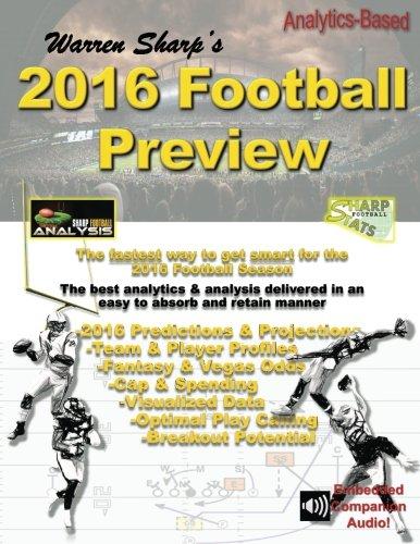 Warren Sharp's 2016 Football Preview: Warren Sharp