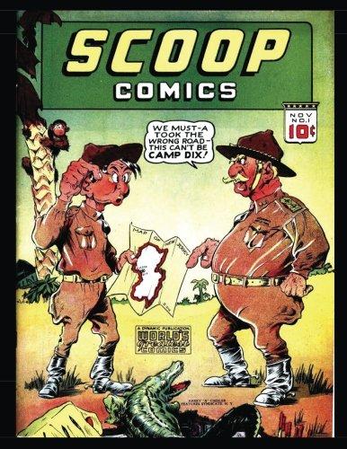 9781535057097: Scoop Comics #1: Action! Mystery! Thrills! - Golden Age Comic 1941