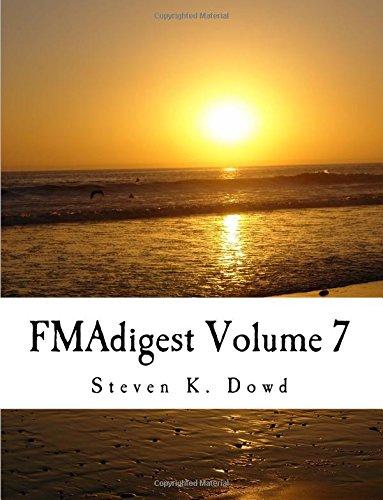 9781535058926: FMAdigest Volume 7: FMAdigest Volume 7 Issues 1 - 5