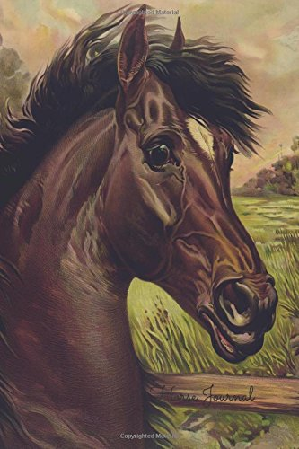 9781535065986: Horse Journal: Vintage Notebook To Write In For Men, Women, Girls, Boys, Blank, Unlined, Unruled, Empty Journal 6inx9in 200 Pages (Blank Books)