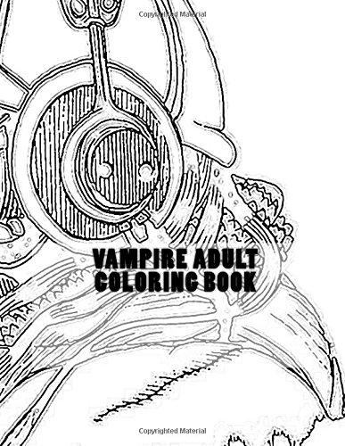 9781535095952: Vampire Adult Coloring Book