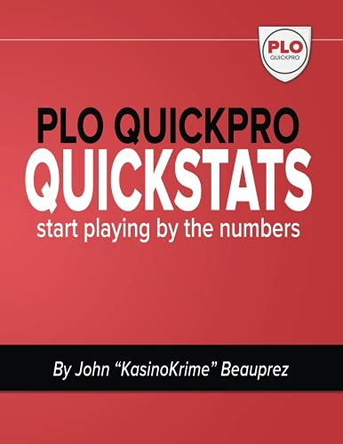 9781535120036: PLO QuickPro Quickstats: Start Playing By The Numbers