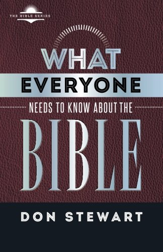 9781535121682: What Everyone Needs to know about the Bible (The Bible Series)