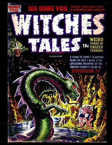 9781535124485: Witches Tales #17: Golden Age Classic Horror Comic 1953