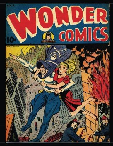 9781535124966: Wonder Comics #7: Golden Age Superhero Comic 1946