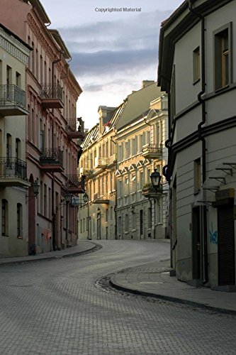 9781535156837: Uzupis Old Town Vilnius Lithuania Journal: 150 page lined notebook/diary