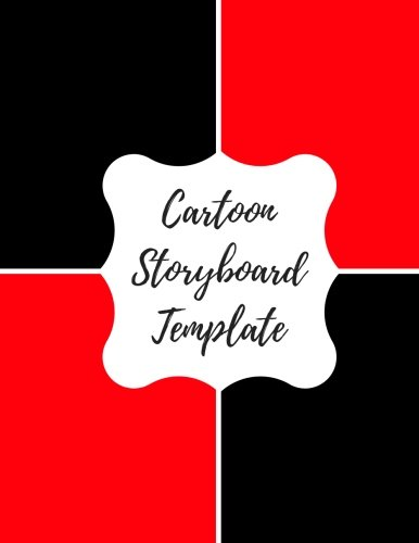 9781535158671: Cartoon Storyboard Template: Blank/ Empty Cartoon Strips 8.5 x 11 in 100 Pages Multi Panels Comic Book Paper Template Journal Notebook Format. Build Your Own Comic Book