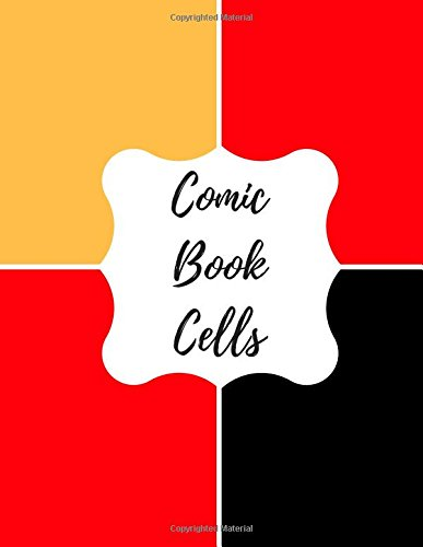9781535159944: Comic Book Cells: Blank/ Empty Cartoon Strips 8.5 x 11 in 100 Pages Multi Panels Comic Book Paper Template Journal Notebook Format. Build Your Own Comic Book