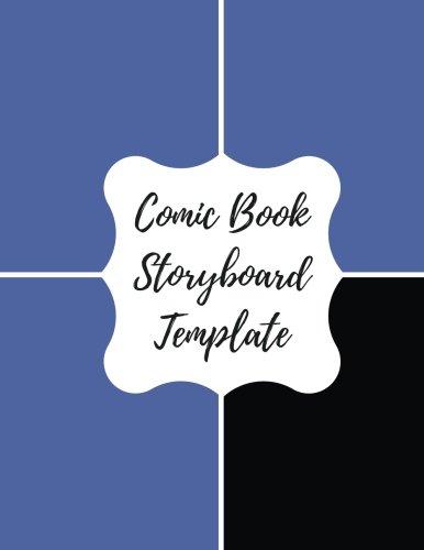 9781535161541 Comic Book Storyboard Template Blank Empty Cartoon