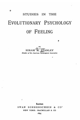 9781535165051: Studies in the Evolutionary Psychology of Feeling