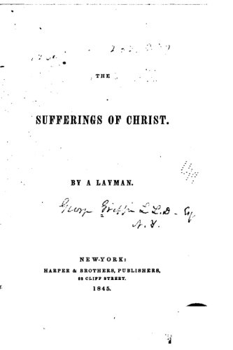 9781535179249: The Sufferings of Christ