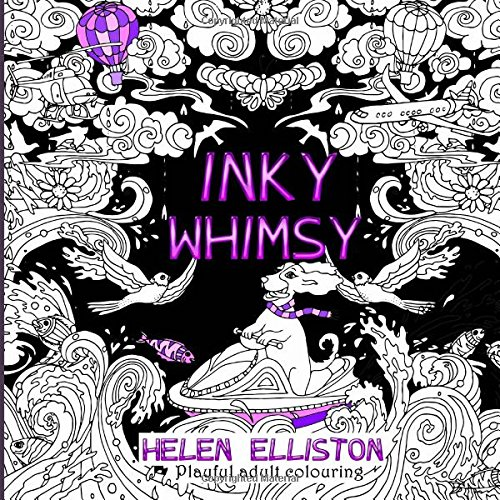 9781535238533: Inky Whimsy: Playful, whimsical adult colouring: Volume 9 (Inky colouring books)