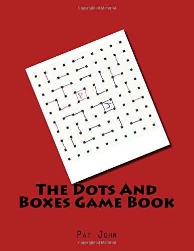 9781535240635: The Dots And Boxes Game Book