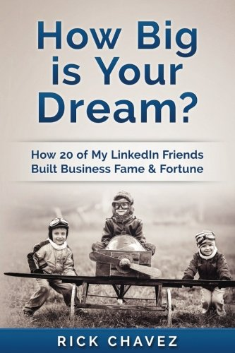 9781535313551: How Big is Your Dream?: How 20 of my LinkedIn Friends Built Business Fame & Fortune