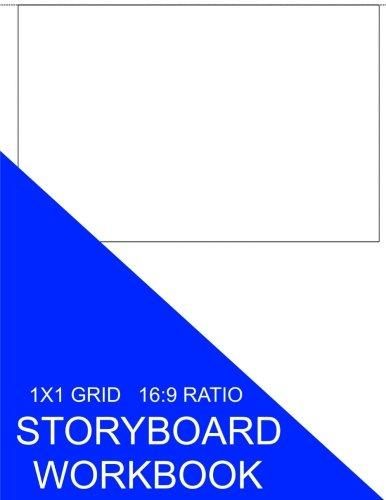 9781535314527: Storyboard Workbook: 1x1 Grid 16:9 Ratio