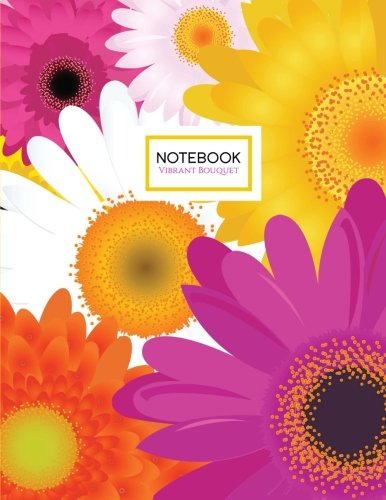 9781535334105: Vibrant Bouquet Notebook: A Floral Notebook in Vibrant Yellow