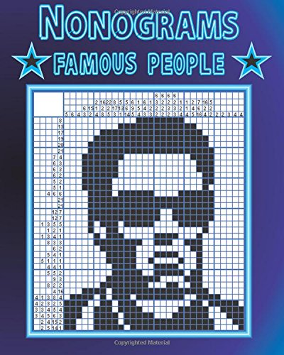 9781535346504: Nonograms: Famous people
