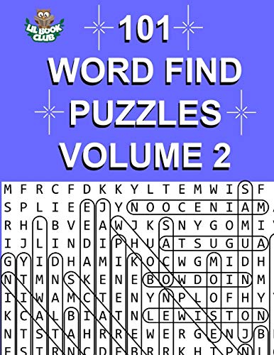 101 Word Find Puzzles Vol. 2: More Themed Word Searches, Puzzles to Sharpen Your Mind