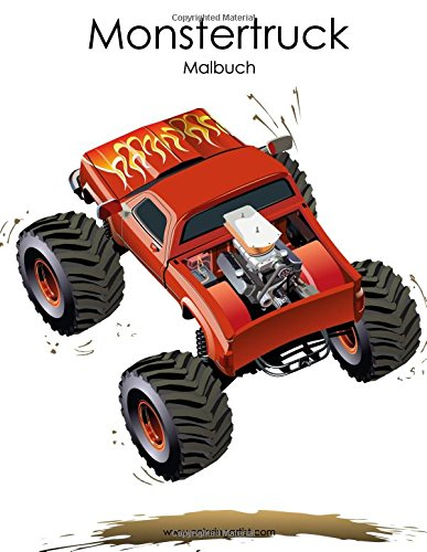 9781535375344: Monstertruck-Malbuch 1: Volume 1