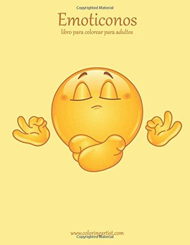 9781535393386: Emoticonos libro para colorear para adultos 1 (Volume 1) (Spanish Edition)