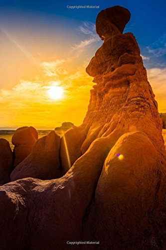 9781535412216: Goblin Valley Sunrise in Utah Journal: 150 page lined notebook/diary