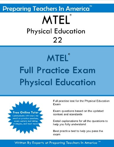 9781535449113: mtel physical education 22: massachusetts tests for