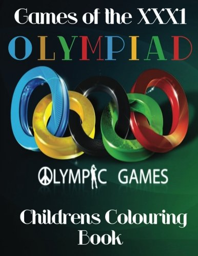 Games of the Olympiad XXX1 Childrens Colouring: Carney, S J