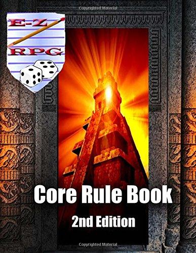 9781535550215: E-Z RPG Core Rule Book 2nd Edition