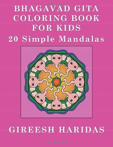 9781535550444: Bhagavad Gita Coloring Book For Kids: 20 Simple Mandalas
