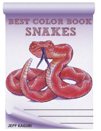 9781535554183: Best Coloring Book for Snakes: Snakes (Best Coloring Books) (Volume 2)