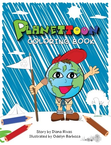 9781535557580: Planettoon: The Story. Coloring Book