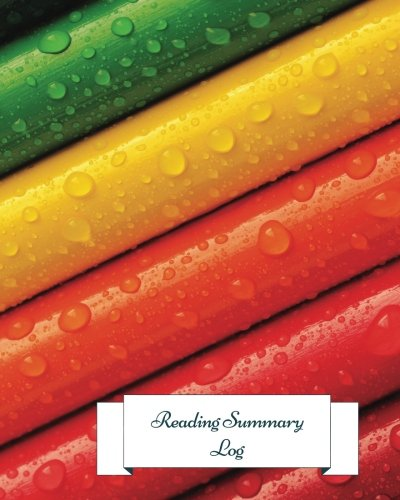 9781535588898: Reading Summary Log: Gifts For Book lovers. 8in by 10in Notepad 100 pages Log book. Reading Organizer Journal Notebook. Record Reviews Quotes, Favorites, Notes, Loans And More (Reading Log)