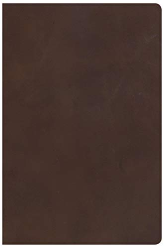 KJV Super Giant Print Reference Bible, Brown Genuine Leather: CSB Bibles by Holman CSB Bibles by ...