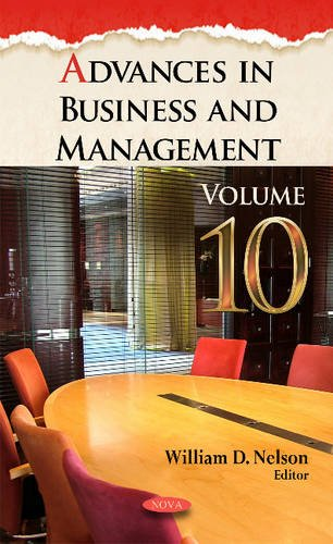 9781536101324: Advances in Business and Management