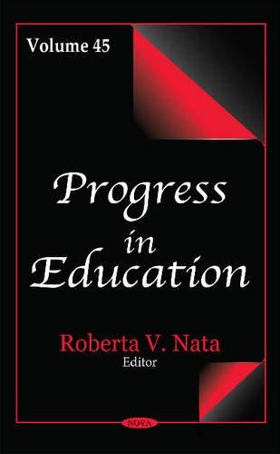 Progress in Education: Volume 45 (Hardback)